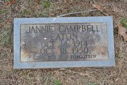 Jannie Campbell Eaton (1914-1950) - Find A Grave Memorial