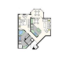 disney s old key west resort 1 bedroom villa. old key west one-bedroom layout disney s resort 1 bedroom villa