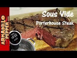 Anova Steak Chart Sous Vide Porterhouse Steak With The Anova Precision Cooker