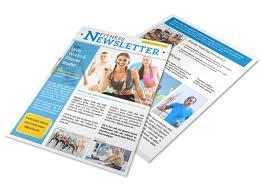 Wellness Newsletter Templates Fitness Newsletter Templates Magdalene Project Org