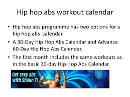 Hip Hop Abs Workout Chart Hip Hop Abs Reviews