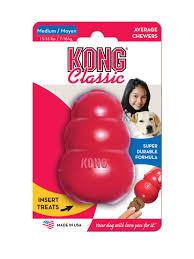 """<b>Игрушка</b> для собак <b>Kong</b> """"<b>Classic</b>"""", средняя, 8,5 х 5,5 см — купить ..."""