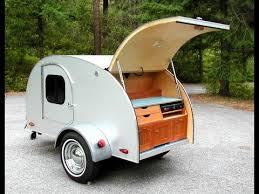 Small Picture Teardrop Camping on the Open Road with Tiny Trailer YouTube