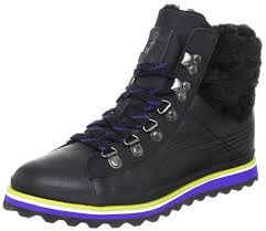 puma city snow boot fur womens leather boots shoes black women s puma soccer cleats complete in specifications