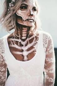 skeleton bride halloween 2017 wild