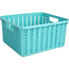 <b>Корзинка для хранения</b> «Вязание», 1.5 л, цвет морская волна в ...