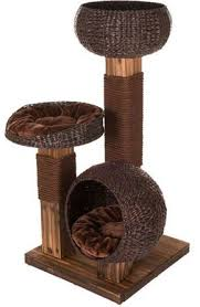 modern cat tree furniture. scorched wood cat tree from zooplusuk affordable modern made natural materials furniture