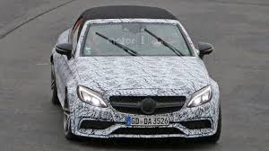 Mercedes-AMG C63 Convertible spied ahead of NY debut | Motor1.com ...