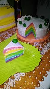 Puspa karolina 4 months ago. Resep Rainbow Cake Ulang Tahun Cepat Praktis Sederhana