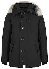Canada Goose Chateau Fusion Fit Black Arctic Tech Coat