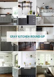 Gray Kitchen Round-Up - Kassandra DeKoning