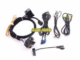 aliexpress com buy mib std2 zr nav discover pro radio adapter mib std2 zr nav discover pro radio adapter cable wire harness for golf 7 mk7