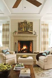 Southern Living Living Room 25 Cozy Ideas For Fireplace Mantels Southern Living