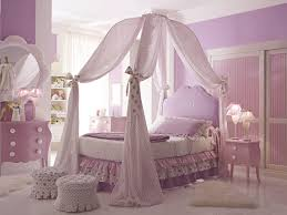 Nifty Pc Full Size Pink Princess Canopy Bed Pc Full Size Pink ...
