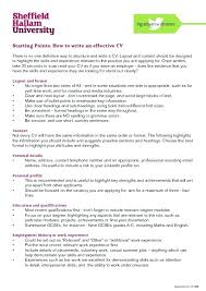 How To Write Personal Profile In Resume Sample A Professional Genius