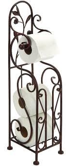 bath life toilet paper holder. free standing toilet paper holder tissue roll stand bronze bathroom organizer bath life e