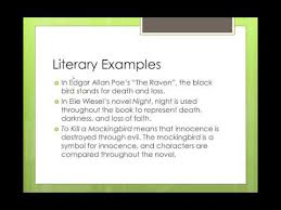 symbolism and examples in literature  symbolism and examples in literature