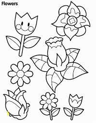 Spring Flower Coloring Pages For Toddlers Coloring Page Spring Bing
