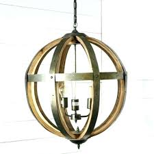 wood orb chandelier wood and metal orb chandelier metal and wood 3 light orb chandelier wood wood orb chandelier