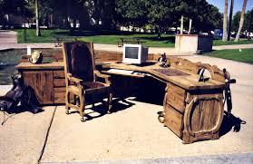 rustic office desks. office desk western executive set spws449 rustic desks