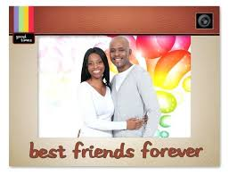 best friends picture frame forever diy photo collage best friends picture frame