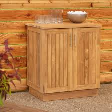 This useful cabinet offers spacious room for stowing extra drinks,  servingware or other items to keep your party rolling.