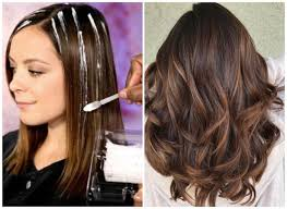 how to highlight hair at home with or