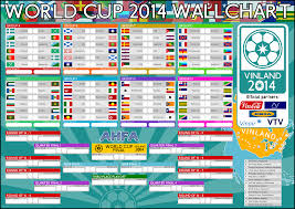 World Cup Planner Chart 2018 72 Surprising World Cup Fixtures Wall Chart