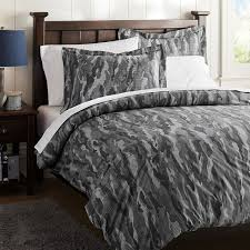 ont design grey camouflage bedding camo duvet cover sham pbteen uk single gray