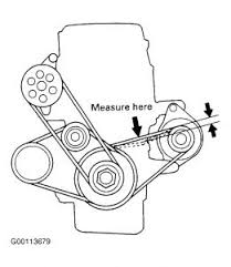 honda civic air conditioner compressor belt air conditioning can you tell if this is the layout