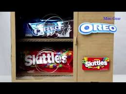 Skittle Vending Machine Custom How To Make KitKat Skittles OREO Vending Machine YouTube YouTube