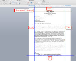 How To Make A Professional Cover Letter Margins Resume For Study