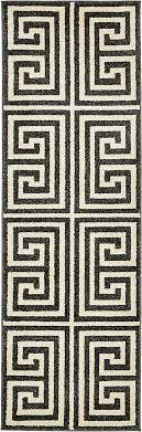 60cm x 183cm greek key runner rug