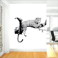 cat wall decals australia leopard on the tree sticker big for living room home decorations cat wall decals