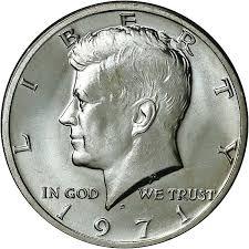 1971 D 50c Ms Kennedy Half Dollars Ngc