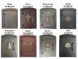 Manchester Mailbox Color Column Mount Mailbox T8