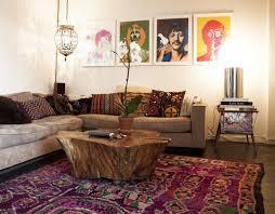 Cool Bohemian Living Room