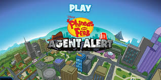 new phineas and ferb game agent alert