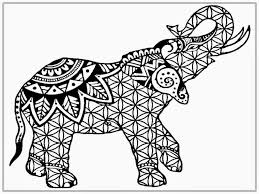Small Picture Elephant Coloring Page ngbasiccom