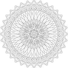 Kindled Love Mandala Coloring Page By