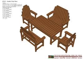 teak furniture plans