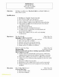 First Time Job Resume Examples Sample Sample Resume Part Time Job