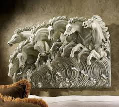 wall art ideas design beatuiful horse wall sculptures art 3 dimensions decorations hanging mounted interior classic expensive artworks top wall sculptures