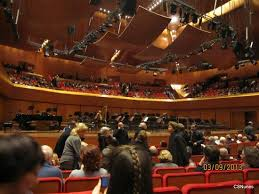 Auditorium Parco Della Musica Seating Chart Upper Gallery Seats Cavea Auditorium Picture Of