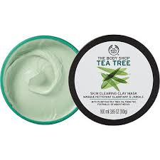 Tea tree skin clearing face mask