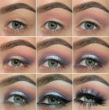 purple smokey eye makeup tutorial for holiday