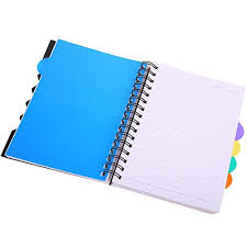 Jual A5 Notebook 5 Subject Spiral Notebooks And Journals Wide