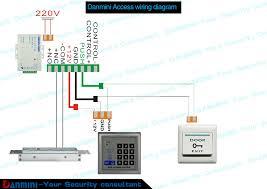 mjpt015 electric door lock rfid access control ad2000-m manual at Rfid Access Control Wiring Diagram