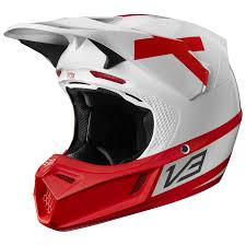 Fox Racing V3 Preest Le Helmet