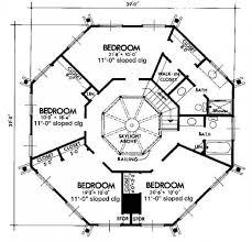 Tree House Floor Plans Octagon House UpperSecond Floor Plan Tree